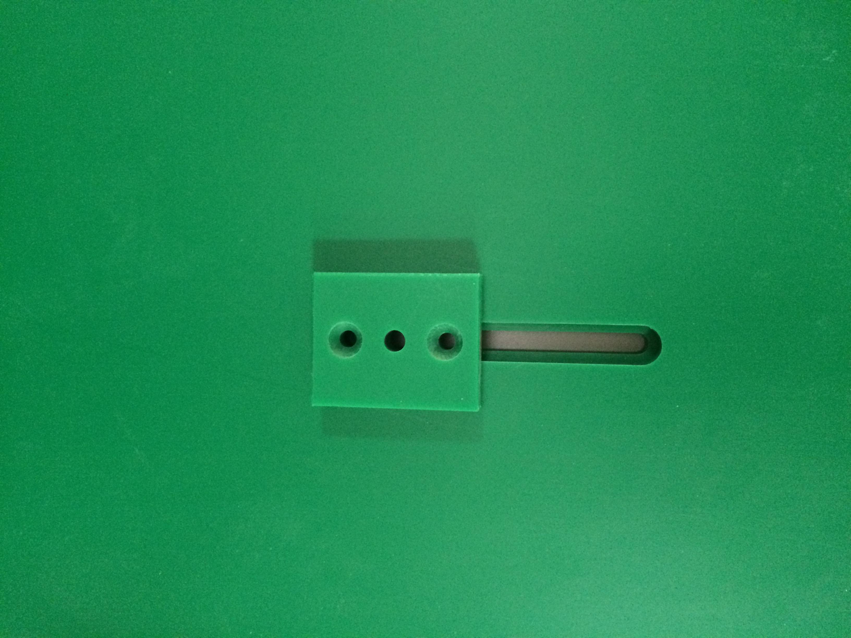plásticos tecnicos pe500 verde